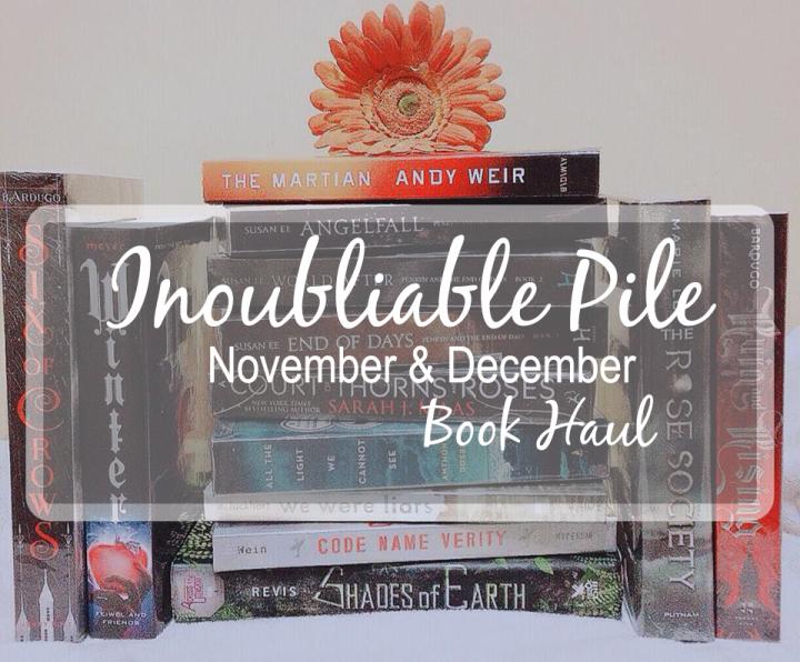 [Inoubliable Pile] NOVEMBER & DECEMBER 2015 | BOOKHAUL