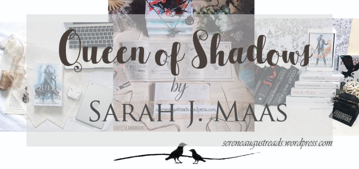 BOOK REVIEW + DISCUSSIONS : Queen of Shadows by Sarah J.Maas