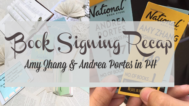 BOOK SIGNING RECAP: Amy Zhang and Andrea Portes inPH